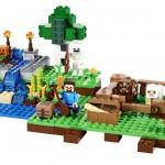 レゴでマインクラフトの農場を体験できる方法があります。