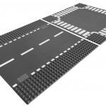 一緒に車を飾りたい! レゴシティの道路基礎板がオススメです。