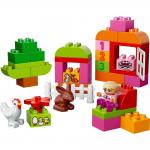 2歳くらいの女の子も遊べるレゴなら デュプロ ピンクコンテナがオススメ!