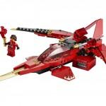 レゴ ニンジャゴーシリーズ! 火忍 カイが操る赤い飛行機がカッコイイ!
